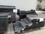 Parts production recycling industry