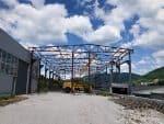 Hallenbau. Produktion und Montage