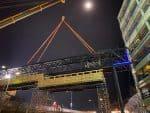 Vienna Airport bridge